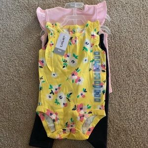 9 month baby girl set